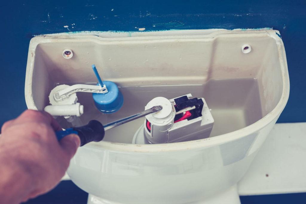 mecanisme chasse d'eau