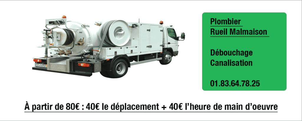 Rueil-Malmaison-Débouchage-canalisation