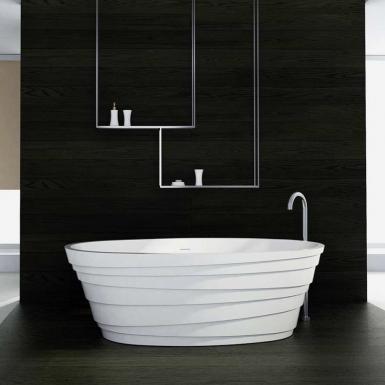 Pour un bon moment de plaisir dans son bain, faire installer une baignoire îlot par un artisan qualifié.