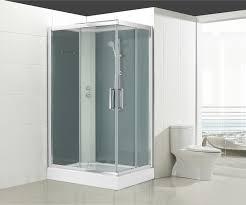 Cabine de douche L.120 x l.90 cm, verre transparent, Quad | Leroy ...