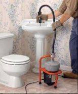 debouchage lavabo furet électrique