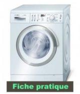 Un lave linge qui ne démarre pas est très vite pris en charge par nos artisans.