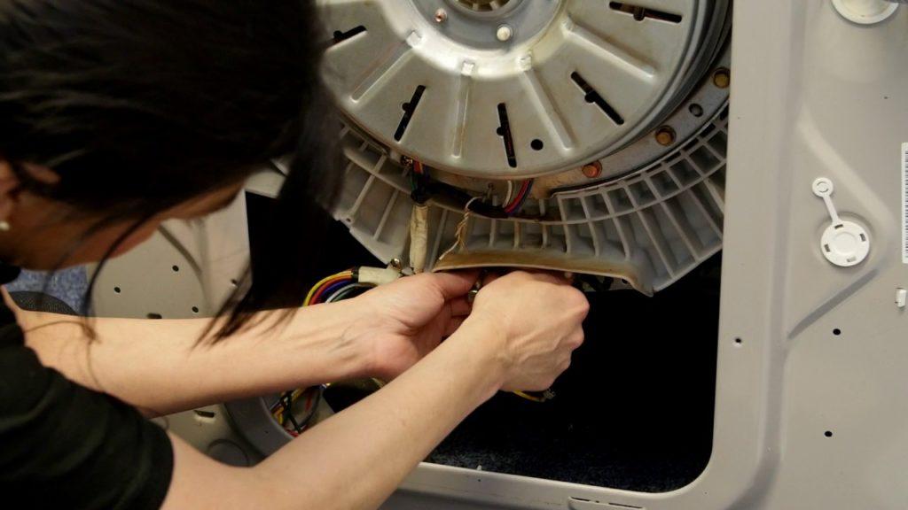Réparation d'une machine à laver